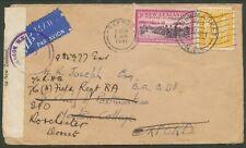 NEW ZEALAND 1941 CENSOR TO UK READRESSED INTERESTING! BIN PRICE GB£5.00