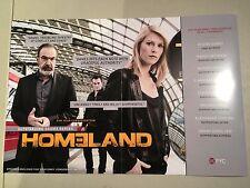 BILLIONS - HOMELAND 2016 Emmy promo DVDs Claire Danes Malin Akerman Showtime