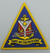 "UNITED STATES NAVY - Naval Air Station Oceana  4"" Patch"