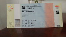 Ticket Olympic Games BARCELONA 1992 - Equestrian Finals