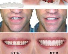 Snap On instant Perfect Smile Upper And Lower False Teeth Flex Teeth Veneers