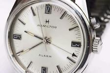 1972 vintage HAMILTON ALARM Mens Wristwatch Stainless Steel, EXCELLENT CONDITION