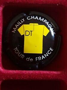 Tres rare capsule champagne Daniel Thibaut maillot jaune Tour de FRANCE