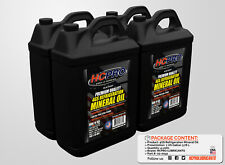 HCPRO 4G Premium Refrigeration Mineral Oil - 1 Gallon size (Pack of 4 Gallons)