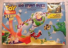 NIB 1998 DISNEY TOY STORY Big Stunt Buzz 3D Action Game 2 Hot Wheels & Track 5+