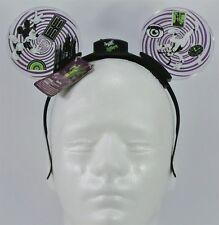 Disney Twilight Zone Tower Terror Mickey Ear Headband Animated Glow Light Up NEW