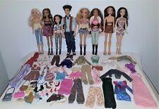 My Scene Lot 1 - 8 dolls + extras