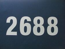 "Mailbox Numbers 3"" Highly Reflective Vinyl Address Numbers"