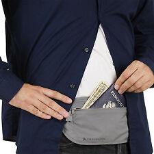 TRAVELON SAFE ID UNDERCOVER WAIST POUCH / KEEP PASSPORT, ID, CASH & CARDS SAFE!!
