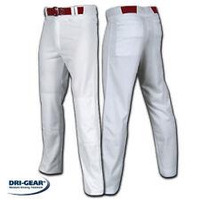 Adult Pro-Plus Open Bottom Baggy Dri-Gear Baseball Pant