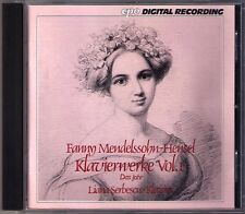 Fanny MENDELSSOHN-HENSEL Das Jahr LIANA SERBESCU CD The Year for Solo Piano CPO