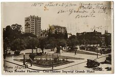 CPA BRESIL - PORTO ALEGRE - Praça Senador Florencio - Cine-Theatro Imperial...