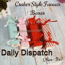 Empty Sweet/Gift/Favour Boxes💫UNIQUE DESIGN💫Cracker Style🌟FREE PP