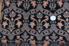 Antique French Early 19thC Silk Cut Velvet Fabric~Renaissance Style, Frame