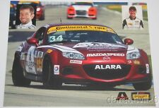 2016 Alara Racing Mazda MX-5 Miata ST IMSA CTSC postcard