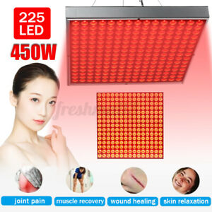 225LED Anti Aging Therapy Light Panel 660nm 850nm Full Body Red Near Infrared