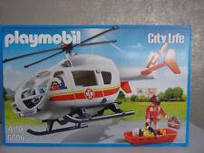 Playmobil City Life 6686 Hélicoptère de sauvetage - neuf et emballage d'origine