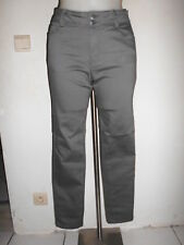 SEXY MOULANT JEANS STRETCH FEMME CHARLES VOGELE GRIS DOUBLE BOUTONNAGE T:36/38