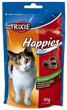 Happies Cat Treats with Poultry & Cheese in Resealable Bag 50g