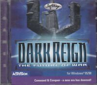 Dark Reign The Future Of War Command & Conquer CD Rom PC Civilisation Game