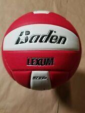 Baden Lexum Microfiber Composite Volleyball - Red/White (VX450C-202A)