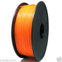 Orange PLA Filament für 3D Drucker Printer 1,75 mm Mit Spule  1kg