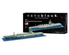 NanoBlock USS Enterprise Aircraft Carrier Micro Building Blocks / NEW SEALED