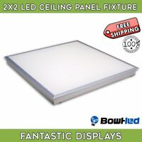 2x2ft LED Panel Light 45W 4000 Lumens  4000K Troffer Recessed Ceiling - 1 PANEL