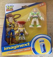 Fisher-Price Imaginext Toy Story Buzz Lightyear & Jessie Figures Mattel 2018