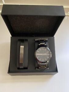 Brand New Armani Exchange Hampton Watch Gift Set AX7101