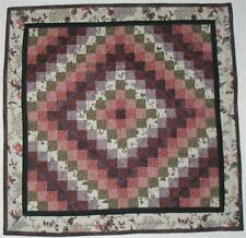 TRIP AROUND THE WORLD Minature Vintage Repro Quilt ATHM A future heirloom! OOAK*