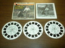 GRIZZLY ADAMS/LIFE AND TIMES OF - NBC TV (J10) Viewmaster 3 reels PACKET SET