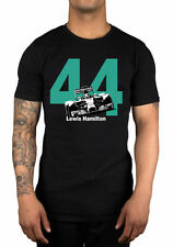 2XL Tshirt With Lewis Hamilton 44 Logo.Mercedes Petronas.Formula1.F1 Tee From UK