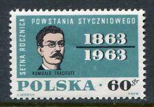 Poland Scott 1111, Revolution Polish General Romuald Traugutt , 1963 NH