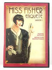 Miss Fisher Enquête Saison 1 Coffret DVD