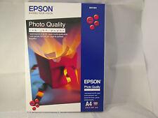 Original Epson Photo Quality Matte Paper S041061 A4 720dpi  100 sheets 102gsm