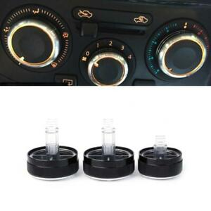 3 Pcs Air Condition Knob Car A/C Heater Control Switch For Nissan Tiida NV200