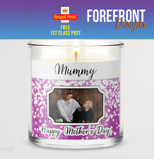 Personalised Candle label/sticker, Perfect MOTHER'S DAY gift,present/MUMMY/MUM