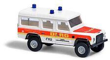 """Busch 8374 ESCALA N, Land Rover Defender"""" DLRG """" # NUEVO EN EMB. orig. #"""