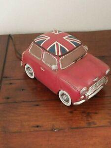 NOVELTY MINI CAR TABLE LAMP