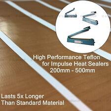 More details for heat sealer spares 200-500mm teflon tape strips high performance upgrade teflon