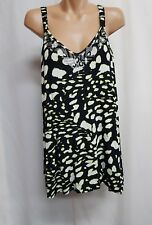AUTOGRAPH RAINFOREST EMBELLISHED ANIMAL PRINT STRAP TOP  BNWT SIZE 20