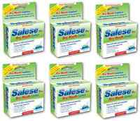 Salese Wintergreen Lozenges Dry Mouth Formulation 6 pack