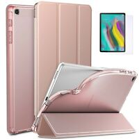 Slim Shell Trifold Case for Samsung Galaxy Tab S5e SM-T720 T725 & Tempered Glass
