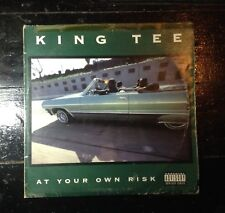 King Tee - At Your Own Risk ( vinyl LP - * Supa Rare !! * ) * OG * IMPORT