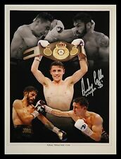 *New* Anthony Crolla Hand Signed 12x16 Boxing Photograph : A