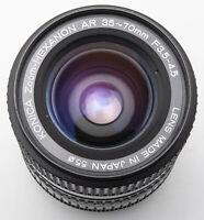 Konica Zoom-Hexanon Macro AR 35-70mm 3.5-4.5 1:3.5 - Konica Hexanon Autoreflex