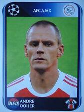 Panini 453 Andre Ooijer Ajax Amsterdam UEFA CL 2010/11