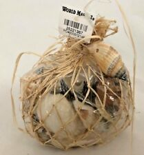 "Beautiful Natural 4"" World Market Bag of Sea Shells Assortment"