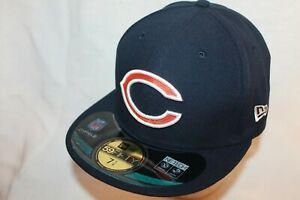 New Era Chicago Bears On-Field Player Sideline Performance Cap NFL 59FIFTY